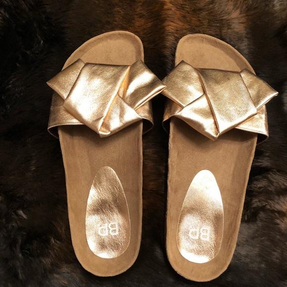 ecd158850d1 bp Shoes - BP. Tapis Sandal in Rose Gold